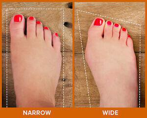 How to Know if you have Wide Feet \u0026 Are