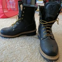 image of what are logger boots
