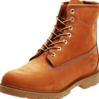 Image of how to choose right size Timberland boot